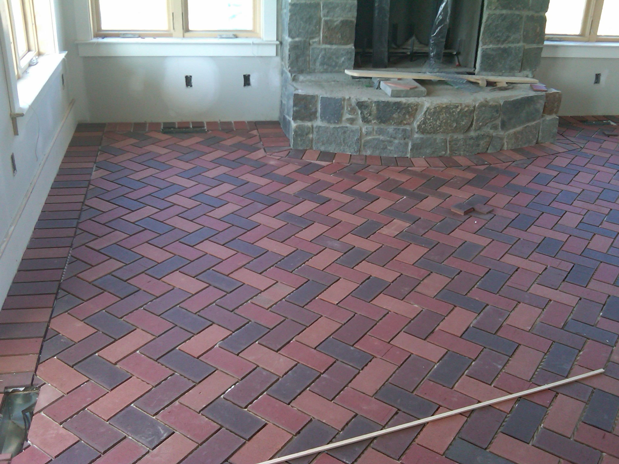 Welcome to hazley builder 39 s custom homes and fine additions for Floor brick